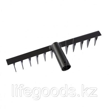 Грабли 12-зубые, 300 мм, без черенка, витые Россия Сибртех 61740, фото 2