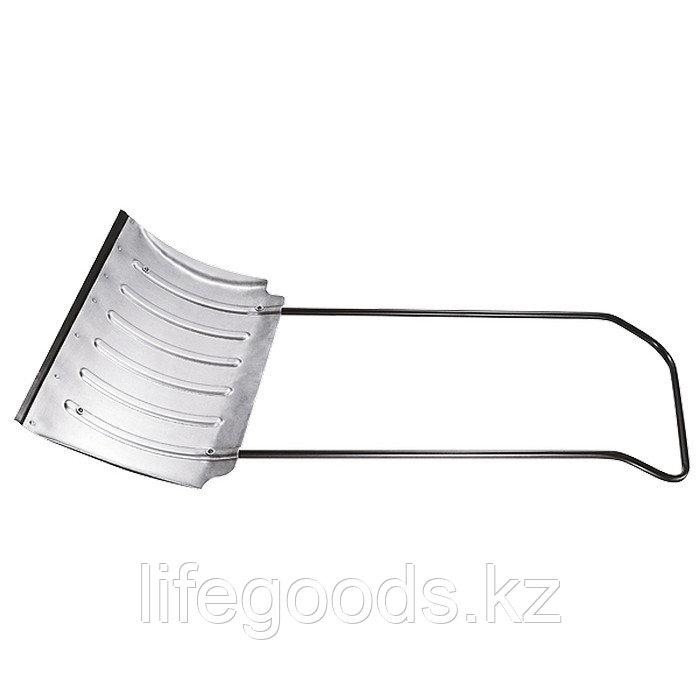 Движок для снега 750 x 420 мм усиленный, алюминиевый, Россия. Сибртеx 61583