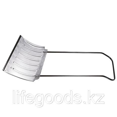 Движок для снега 750 x 420 мм усиленный, алюминиевый, Россия. Сибртеx 61583, фото 2