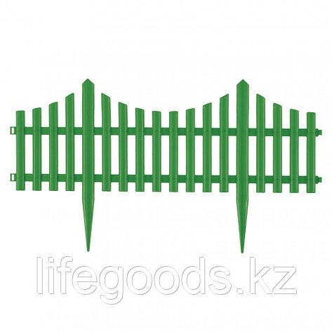 """Забор декоративный """"Гибкий"""", 24 x 300 см зеленый Palisad 65017, фото 2"""