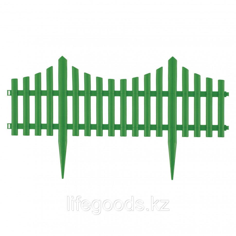 "Забор декоративный ""Гибкий"", 24 x 300 см зеленый Palisad 65017"