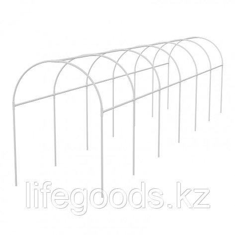 Каркас парника пластиковый 500 х 110 х 120 см, дуга D 20 мм, белый Palisad 63902, фото 2