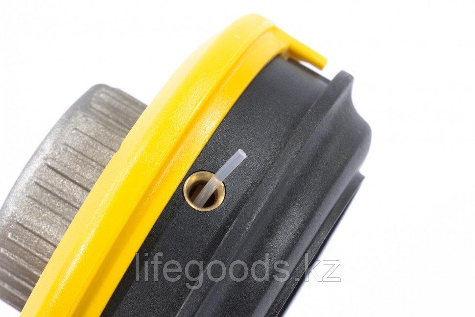 Катушка триммерная полуавтоматическая, легкая заправка лески, гайка M10x1,25, винт M10-M10, алюминиевая кнопка - фото 2