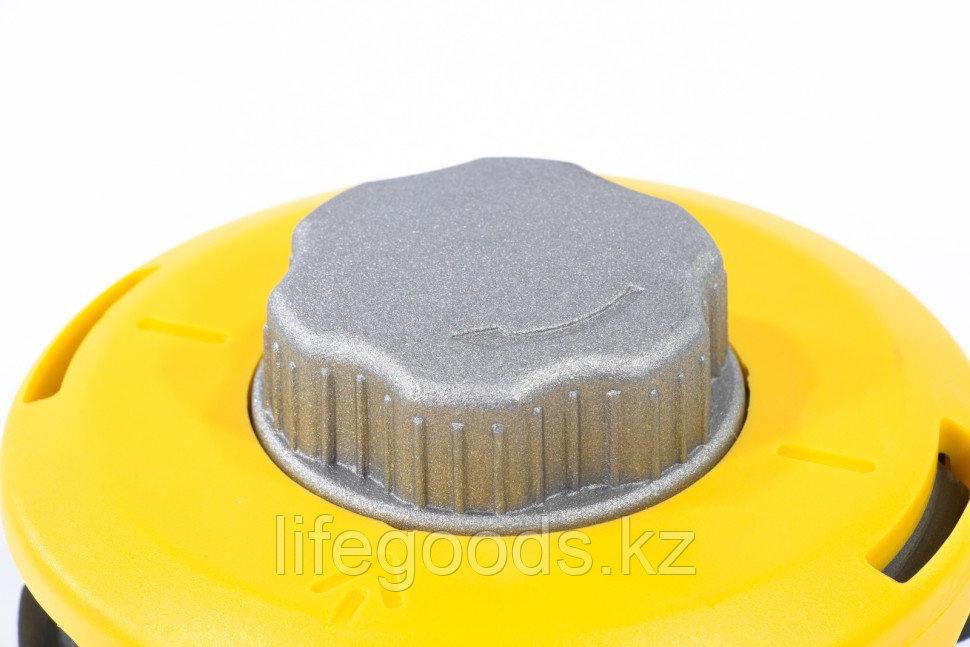 Катушка триммерная полуавтоматическая, легкая заправка лески, гайка M10x1,25, винт M10-M10, алюминиевая кнопка - фото 4