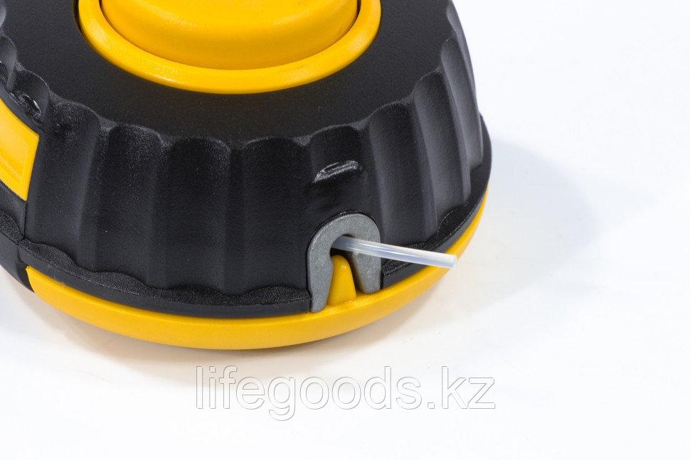 Катушка универсальная триммерная, гайка М10 х 1,25, гайка М8, винт М8-М10, левая резьба, шаг 1,25 мм Denzel - фото 3