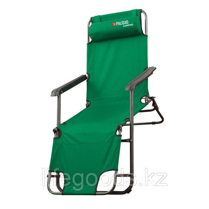 Кресло-шезлонг двух позиционное 156 х 60 х 82 см, Camping Palisad 69587