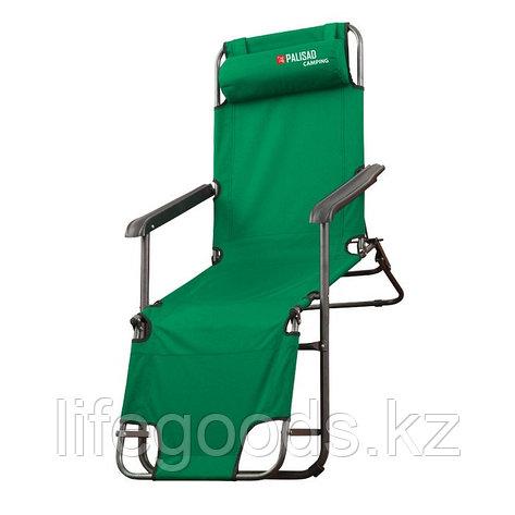 Кресло-шезлонг двух позиционное 156 х 60 х 82 см, Camping Palisad 69587, фото 2