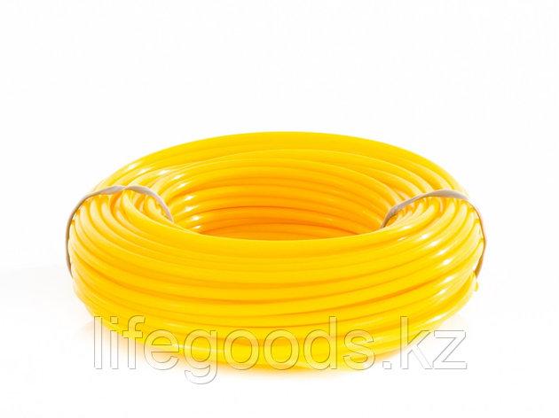 Леска для триммера круглая, 2,4 мм х 15 м Denzel Россия 96147, фото 2