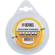 Леска для триммера круглая, 3 мм х 10 м, блистер Denzel 96148