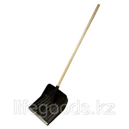 Лопата полипропиленовая 400 x 420 мм с черенком, Россия. Сибртеx 61580, фото 2