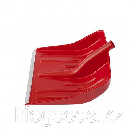 Лопата полипропиленовая красная 400 x 420 мм без черенка, Россия. Сибртеx 61617, фото 2