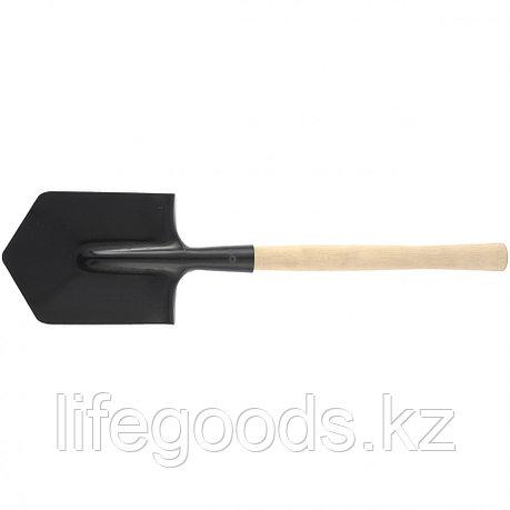Лопата саперная, деревянный черенок Россия 61425, фото 2