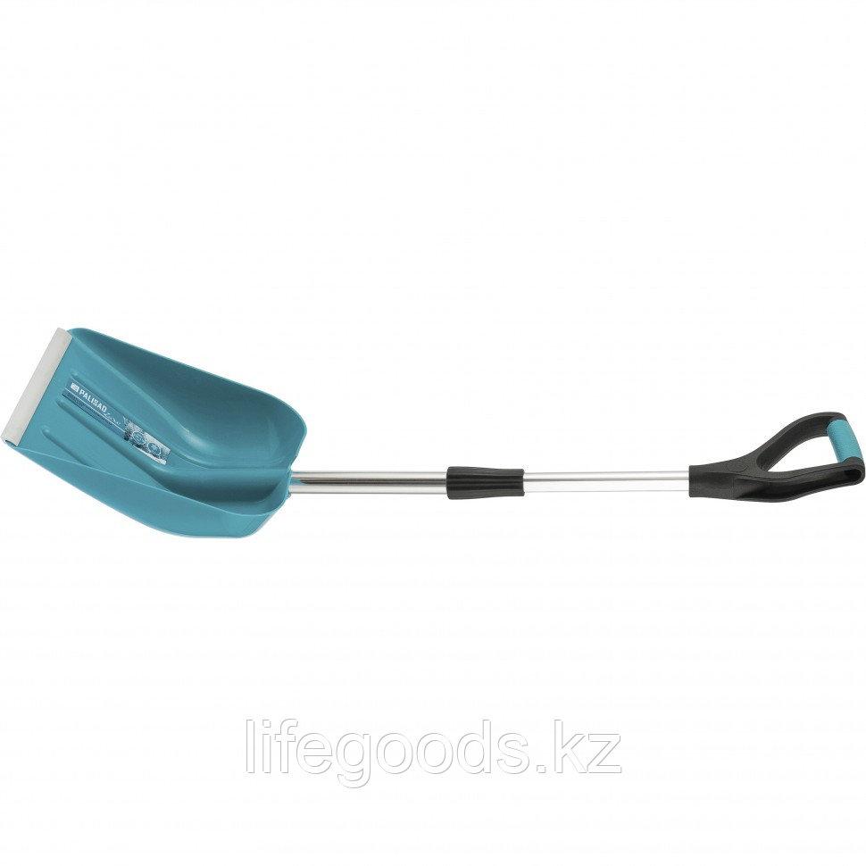 Лопата снеговая 270 x 310 мм, Luxe COLOR Line Palisad 615005