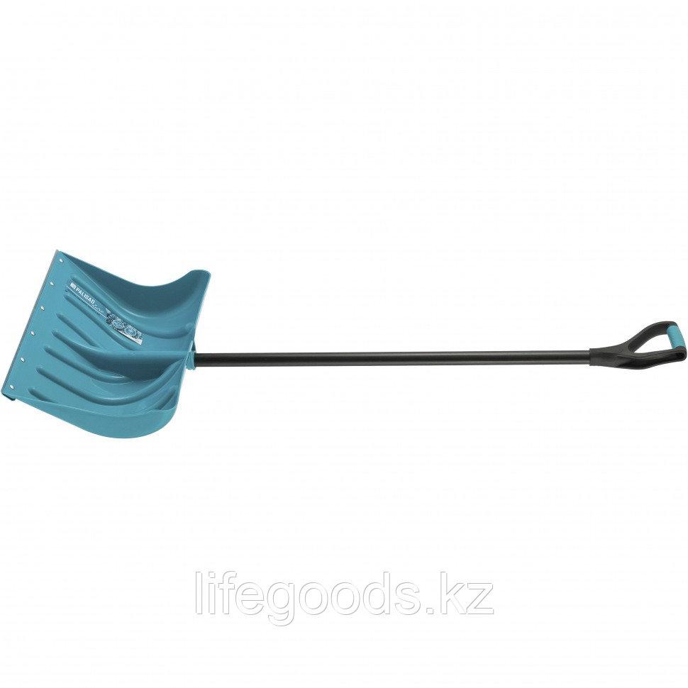 Лопата снеговая 500 x 325 мм, Luxe COLOR Line Palisad 615015