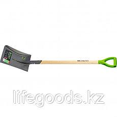 Лопата совковая, деревянный черенок Сибртех 61480, фото 2