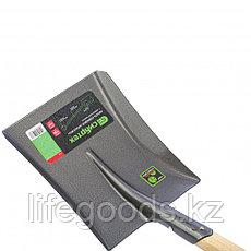 Лопата совковая, деревянный черенок Сибртех 61480, фото 3