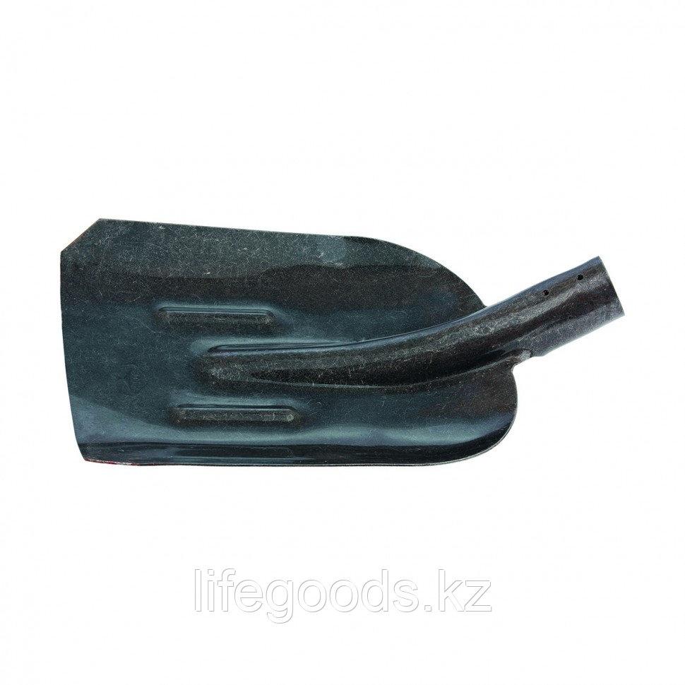 Лопата совковая, с ребром жесткости, рельсовая сталь, без черенка Россия Сибртех 61471