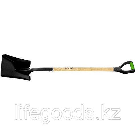 Лопата совковая, эргономичный черенок из вяза, двухкомпонентная рукоятка, общая Длинa 1250 мм Palisad 61448, фото 2