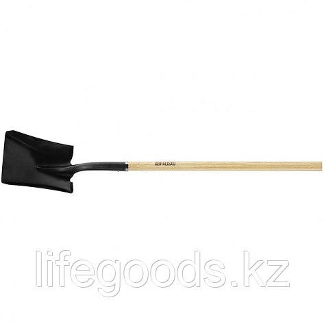 Лопата совковая, эргономичный черенок из вяза, общая Длинa 1500 мм Palisad 61446, фото 2