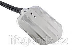 Лопата универсальная алюминиевая 205 x 260 мм, черенок из пластика Stels 61585, фото 2