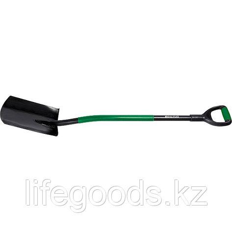 Лопата универсальная металлический черенок, прямоугольная Palisad 61405, фото 2