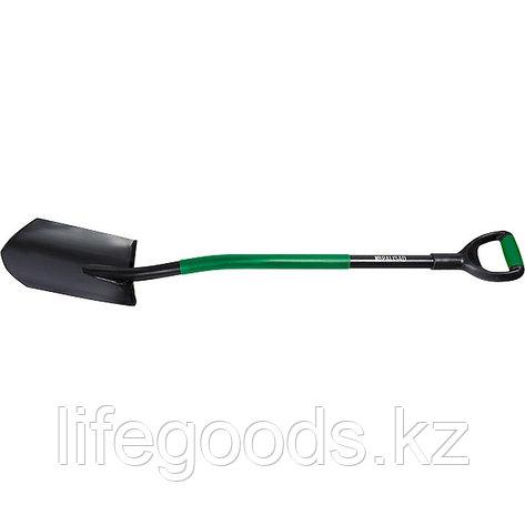 Лопата универсальная, металлический черенок, заостренная Palisad 61407, фото 2