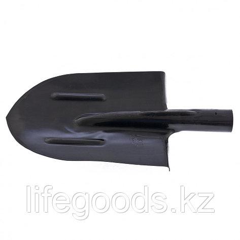 Лопата штыковая с ребрами жесткости, без черенка (АМЕТ) Россия 61411, фото 2