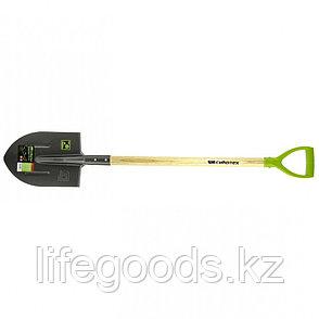 Лопата штыковая, деревянный черенок Сибртех 61479, фото 2