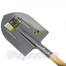 Лопата штыковая, деревянный черенок Сибртех 61479, фото 3