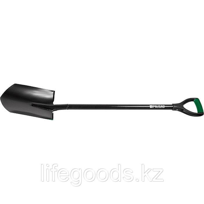 Лопата штыковая, металлический черенок, заостренная Palisad 61403