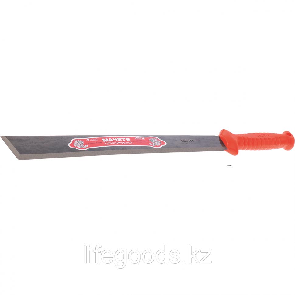 Мачете туристическое 490 мм, пластиковая рукоятка (АРТИ) Россия 60400