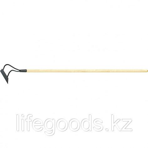 Мотыга 170 х 45 мм с черенком, 1380 мм Россия Сибртех 62331, фото 2