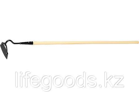 Мотыга 170 х 60 мм с черенком, 1330 мм Россия Сибртех 62316, фото 2