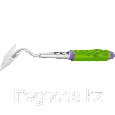"""Мотыжка """"трапеция"""", обрезиненная рукоятка, может использоваться в сборе с ручкой 63016, 63017 Palisad 63010, фото 2"""