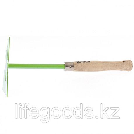 """Мотыжка комбинированная, """"трапеция"""" и """"лепесток"""", деревянная рукоятка, 350 мм Palisad 62315, фото 2"""