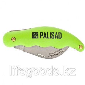 Нож садовый, 170 мм, складной, изогнутое лезвие, пластиковая эргономичная рукоятка Palisad 79011, фото 2