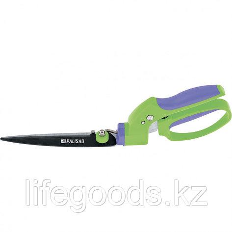 Ножницы газонные 350 мм, пластиковые обрезиненные рукоятки Palisad 60574, фото 2