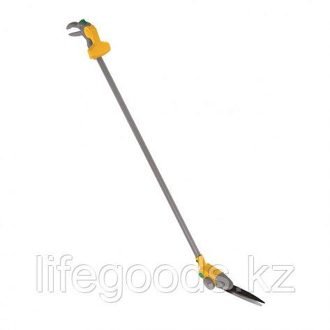 Ножницы для травы на штанге с колесами, 930 мм, поворот лезвий Luxe Palisad 60864, фото 2
