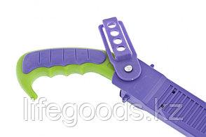 Ножовка садовая, 300 мм, двухкомпонентная рукоятка, ножны, подвес для поясного ремня Palisad 236035, фото 2