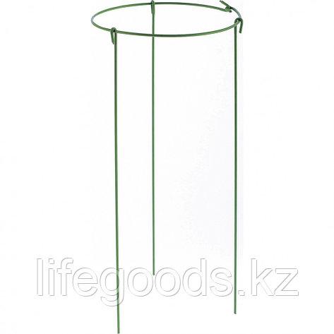 Опора для растений круглая, D 14 см. H 30 см, 5 шт, в упаковке, металл в пластике Palisad 644055, фото 2