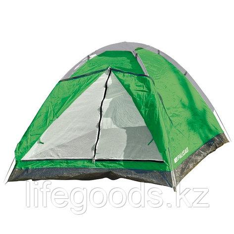 Палатка однослойная двух местная, 200 х 140 х 115 см, Camping Palisad 69523, фото 2