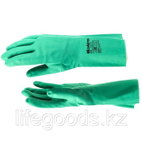 "Перчатки маслобензостойкие ""латекс"", XL Сибртех 67798, фото 2"