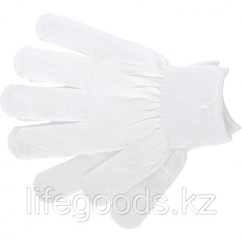 Перчатки Нейлон, 13 класс, белые, L Россия 67820, фото 2