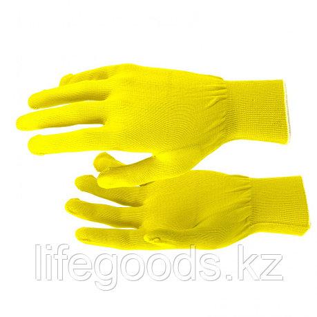Перчатки Нейлон, 13 класс, цвет лимон, L Россия 67822, фото 2