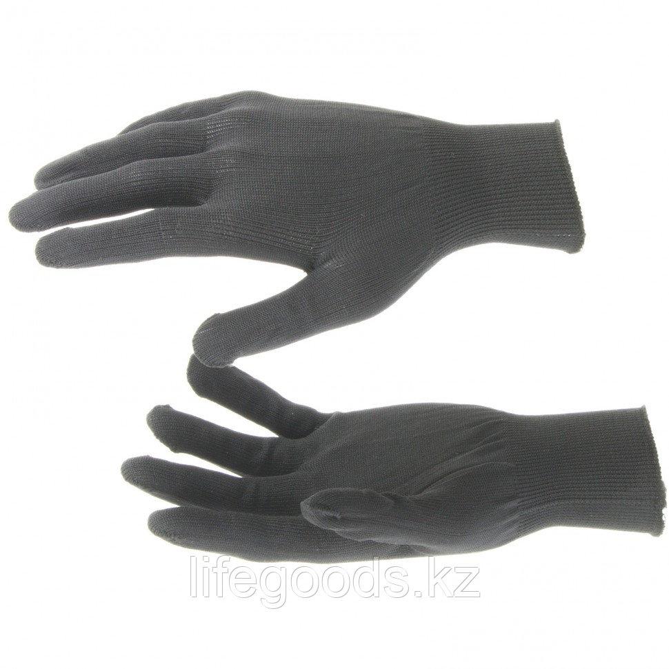 Перчатки Нейлон, 13 класс, черные, XL Россия 67843