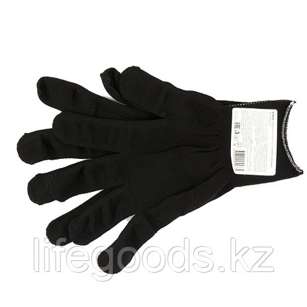 Перчатки Нейлон, 13 класс, черные, XL Россия 67843, фото 2