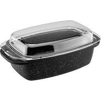 Гусятница Vinzer Premium Granite Induction 89457, 5.6 л, с крышкой