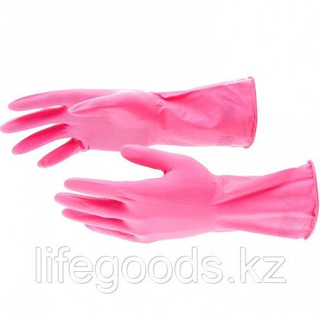 Перчатки хозяйственные, латексные, L Elfe 67883, фото 2