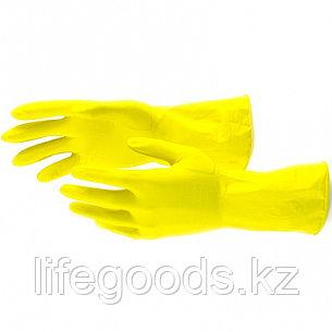 Перчатки хозяйственные, латексные, L Сибртех 67878, фото 2