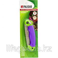 Пила садовая складная, пластиковая рукоятка Palisad 60415, фото 3